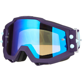 100% Accuri Anti Fog Mirror Goggles maneuver